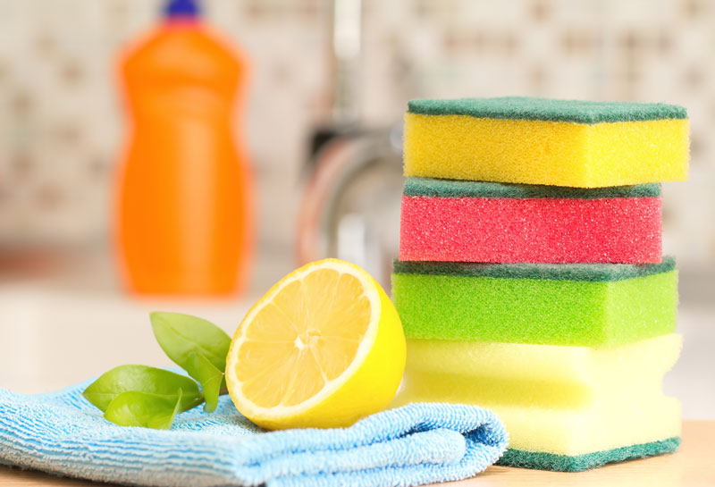 Natural and Green Home Cleaning Recipes for a Sparkling Home