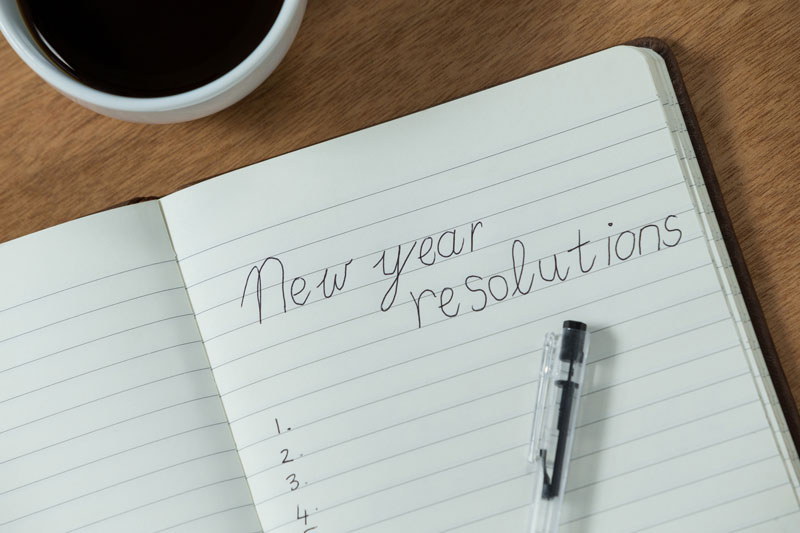 Easy New Year's Resolutions for the Home
